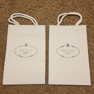 New Authentic PRADA Gift Bags Bundle - Small